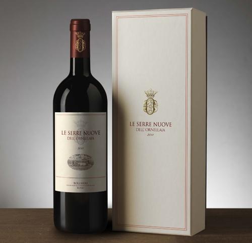 Le Serre Nuove dell'Ornellaia 2011 wine