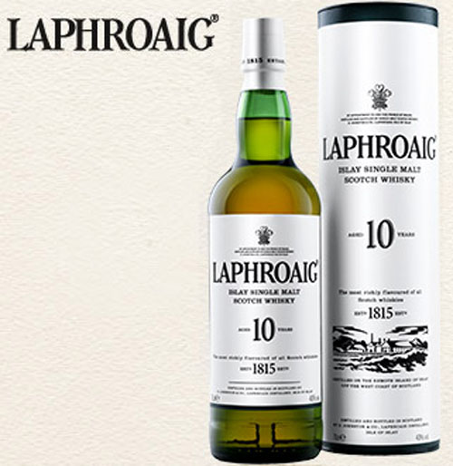 Laphroaig 18-Year-Old Scotch Whisky