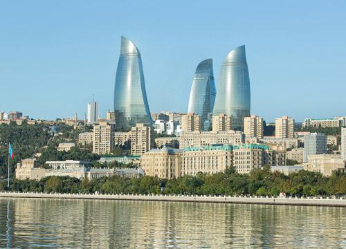 Fairmont Baku luxury hotel - Flame Towers, Azerbaijan
