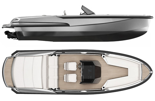 Ribbon Yachts - R27 Superyacht