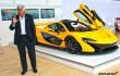 Jay Leno 2015 McLaren P1 supercar