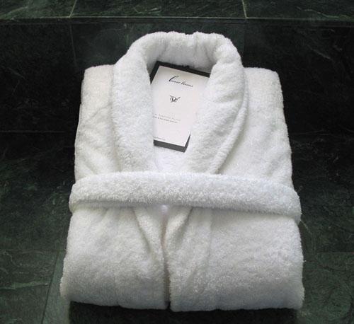Luxor Linens Egyptian cotton bathrobe