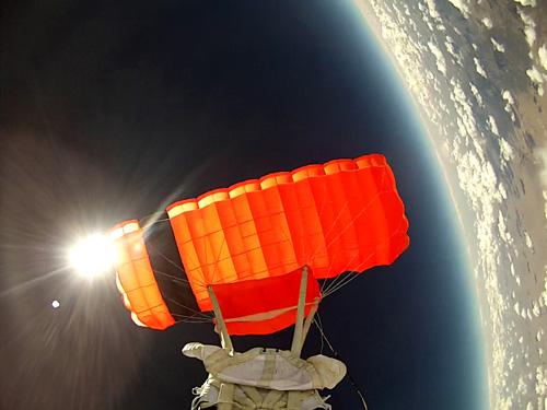 World View - Highest Parafoil Flight World Record Broken