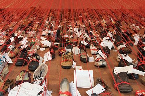 Japanese Artist Chiharu Shiota - Arthur M. Sackler Gallery