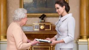 Queen Elizabeth - Angelina Jolie