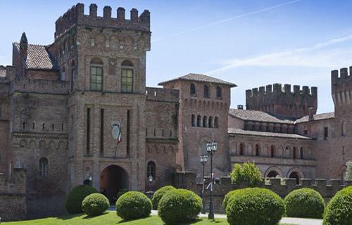 Lambardy castle - Italy