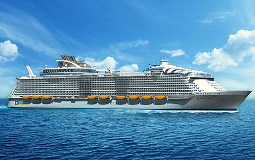Harmony of the Seas Cruise Ship by Royal Caribbean