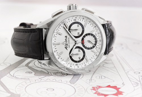 Alpina - Alpiner 4 Flyback Chronograph Watch