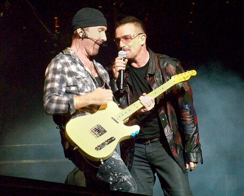 Bono - The Edge