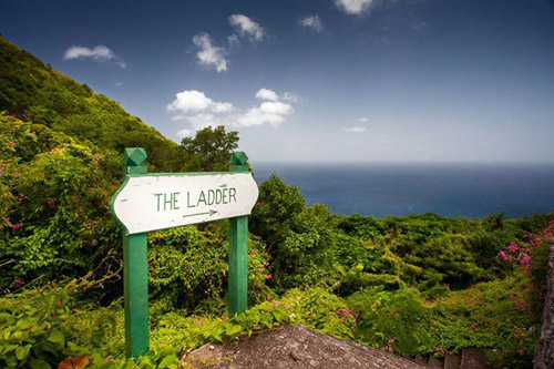 Saba island hiking - Caribbean