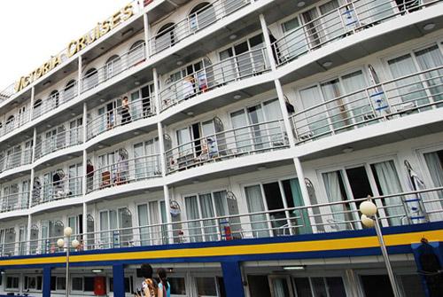 Victoria Cruises ship