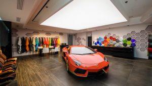 Lamborghini at the Ad Personam Studio
