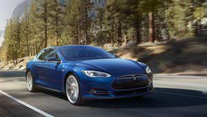 Tesla Model S 70D electric car