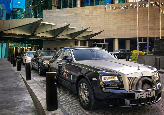 Largest Fleet of Rolls-Royce Ghost Motor Cars Anywhere!