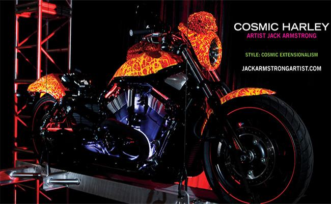 Cosmic Starship Harley Davidson - Jack Armstrong