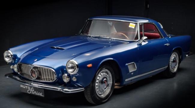 Own a 1958 Maserati 3500 GT or 1969 Lamborghini Islero 400 GT S