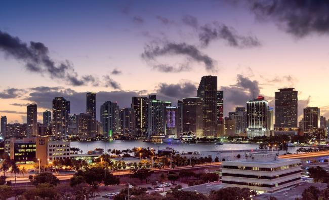 Miami, Florida downtown - Miami Design District