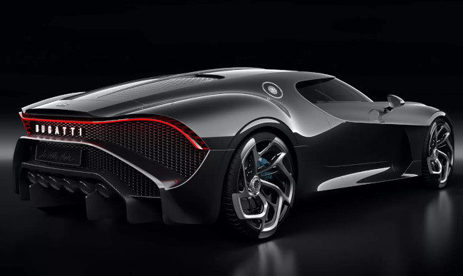 Bugatti La Voiture Noire luxury car