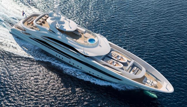 Heesen Yachts - Project Triton luxury yacht