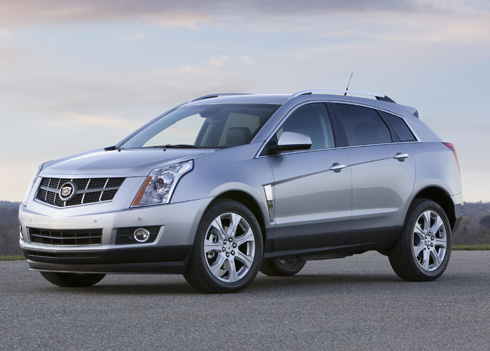 cadillac unveils its 2010 luxury cadillac srx crossover. Black Bedroom Furniture Sets. Home Design Ideas