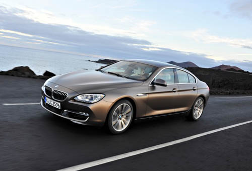 2013 BMW 640i Gran Coupe luxury car