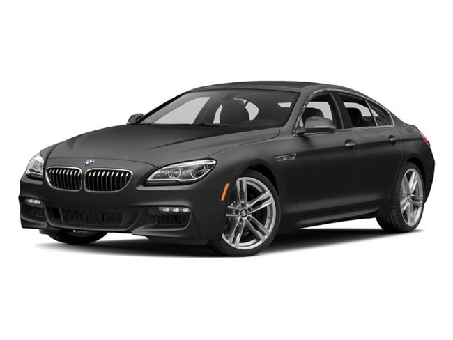 2018 BMW 6-Series luxury sedan