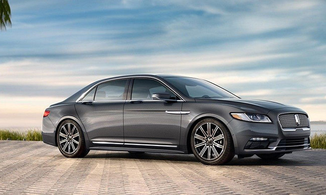 2018 Lincoln Continental luxury sedan
