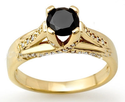 Black Diamond Engagement Ring – An Eccentric Choice
