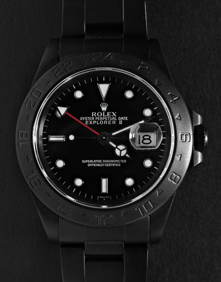 Black Limited Editio​n - Rolex Explorer II watch