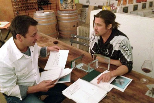 Brad Pitt & Frank Pollaro custom luxury furniture