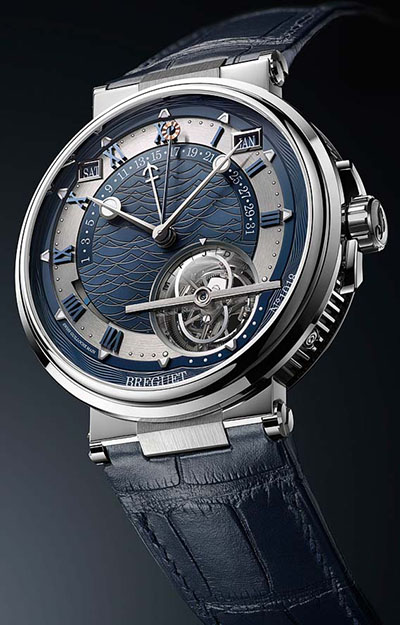 Breguet Marine Equation Marchante 5887 luxury watch