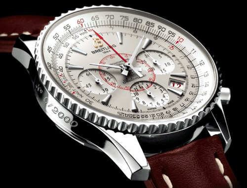 Breitling Montbrillant 01 limited stainless steel luxury watch