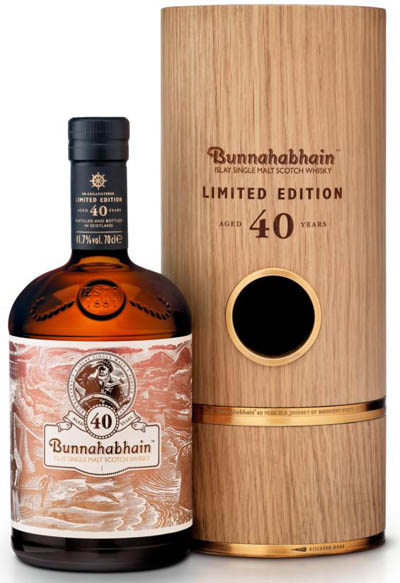 Bunnahabhain 40 YO - rare scotch whisky
