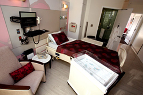 Inside Luxury Maternity Rooms