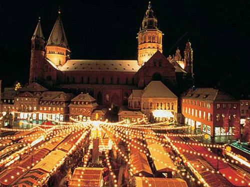 Christmas market - Mainz, Germany