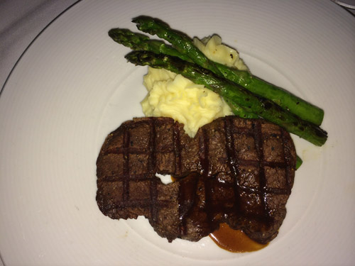 Ciera Steak + Chophouse restaurant - Filet Mignon