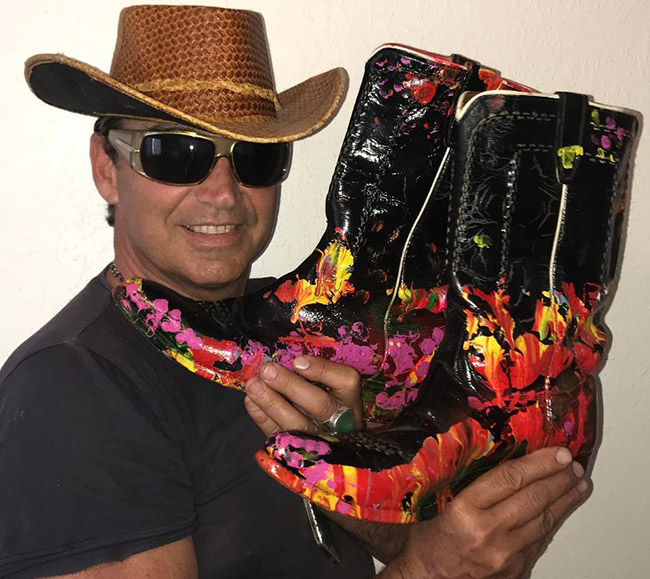 Cosmic Cowboy Boots - World's Most Expensive Boots - Jack Armstrong