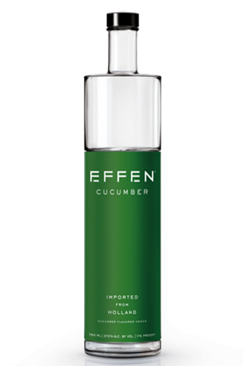 Effen cucumber flavored vodka