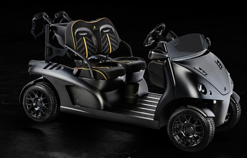 Garia Mansory Currus luxury golf car