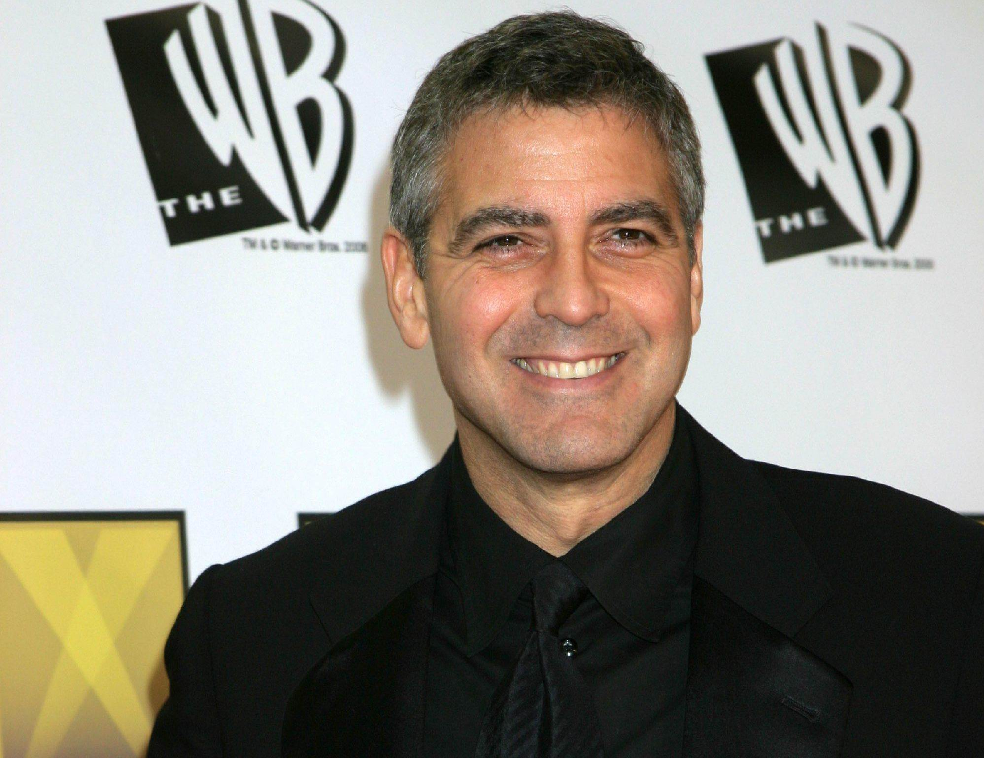 George Clooney Hollywood celebrity