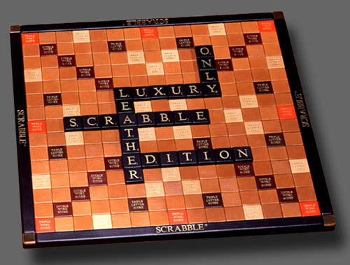 Georges & Monica Bloumels - Scrabble game
