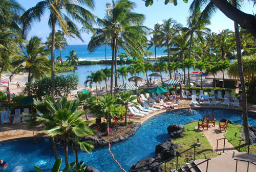The New Grand Hyatt Kauai Resort And Spa Formerly Regency Is A Luxurious 602 Room Recognized By Most Respected Travel
