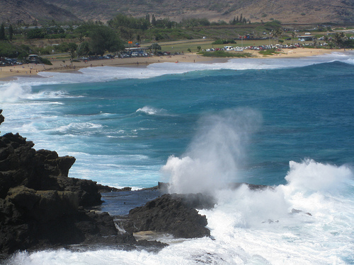 Halona Blowhole Beach