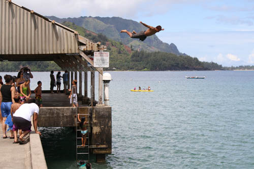 Hanalei Pier - Kauai, Hawaii - South Pacific movie