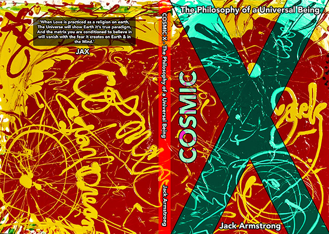 Cosmic X Book by iconic artist Jack Armstrong