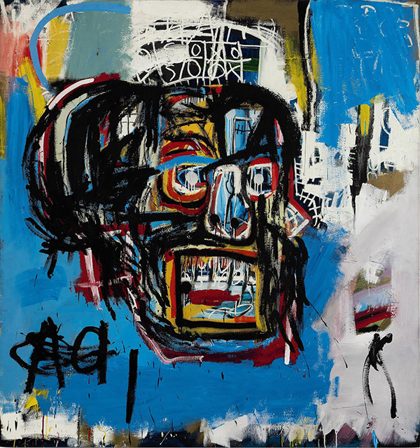 Untitled - Jean-Michel Basquiat painting
