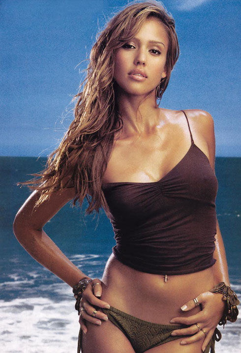 jessica alba wallpaper good luck chuck. Jessica Alba made Maxim#39;s Hot