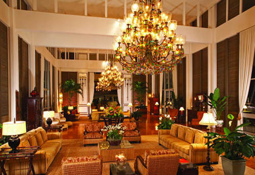 The Kahala Hotel & Resort lobby - Hawaii
