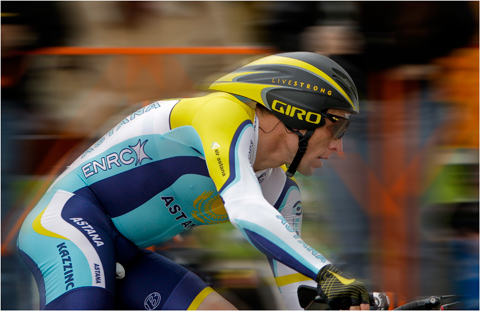 Lance Armstrong - Amgen of California cycling race