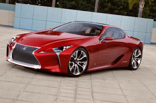 lexus lf lc 2 2 hybrid sport coupe concept vehicle. Black Bedroom Furniture Sets. Home Design Ideas